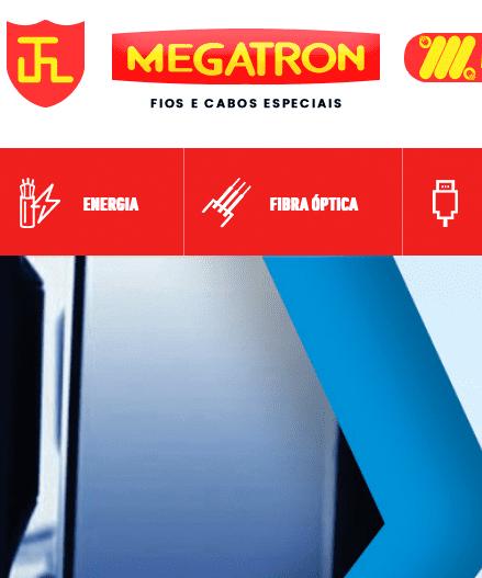 Criação e Desenvolvomento do Site Megatron