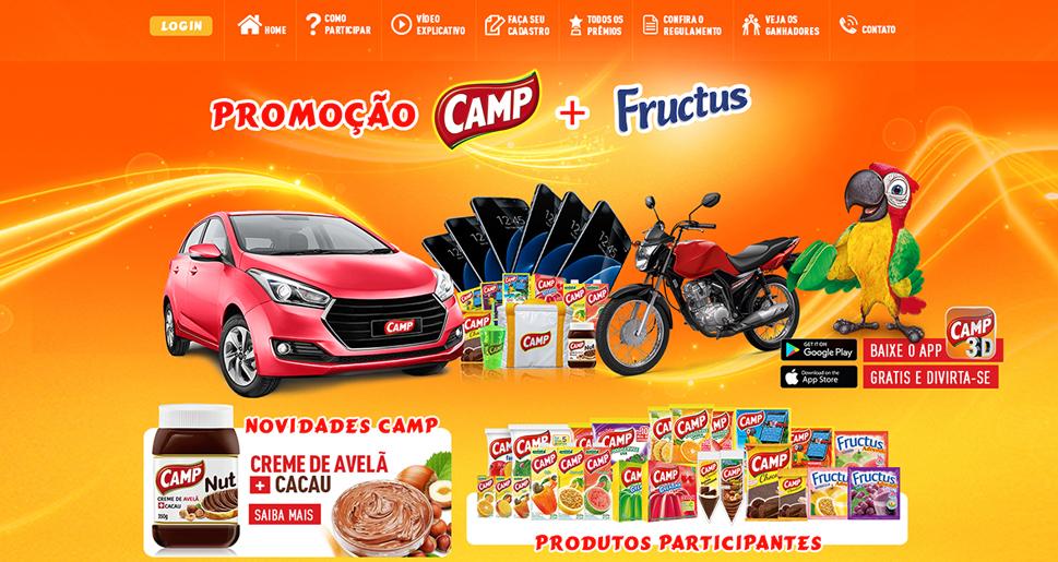 Criação e Desenvolvomento do Site Promoção Campshow