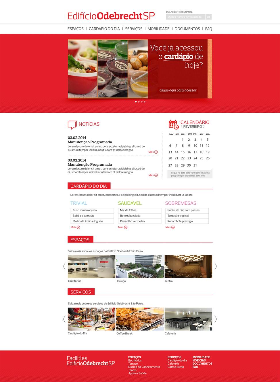 Criação e Desenvolvimento do Portal Edifício Odebrecht