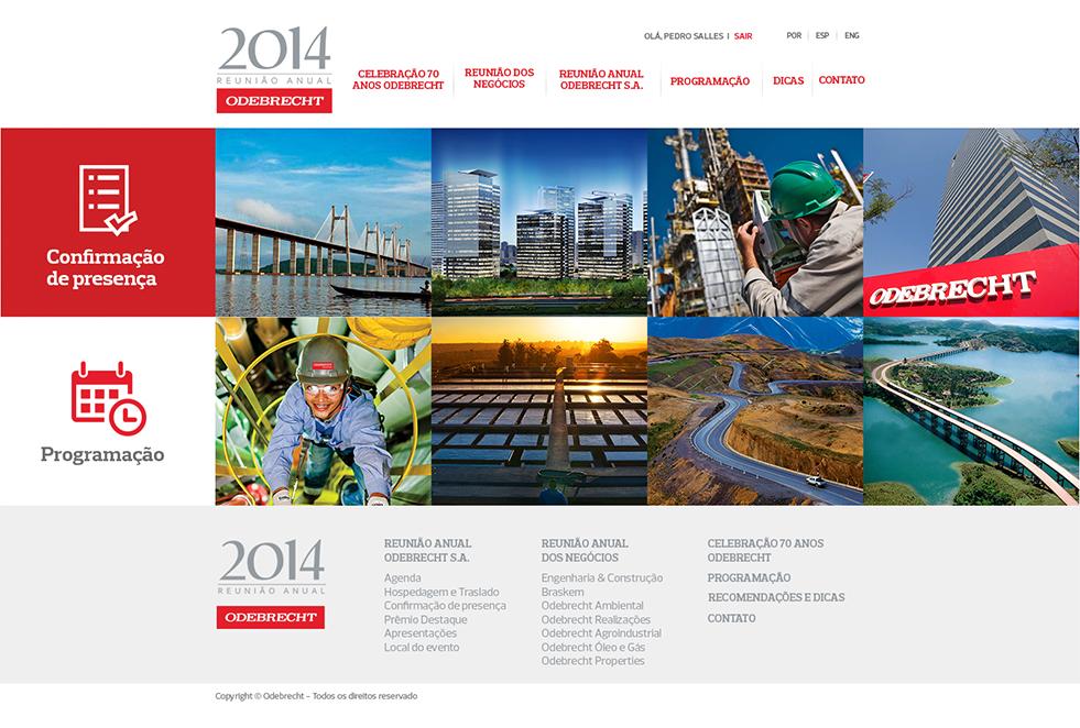 Criação e Desenvolvomento do Odebrecht Reunião Anual 2014